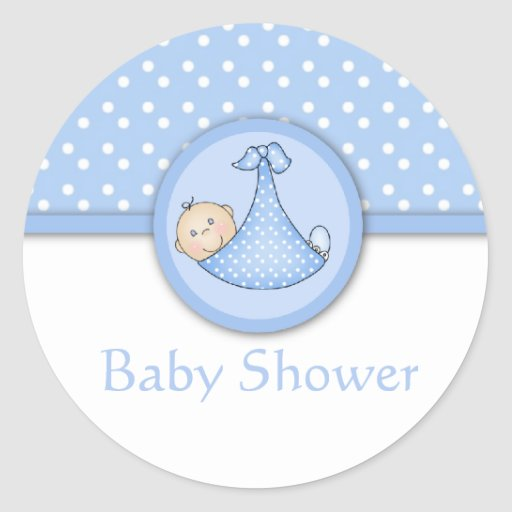 Collections of chic baby announcement stickers envelope for Stickers pared bebe