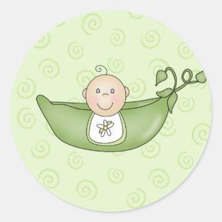 Customizable Baby Shower stickers