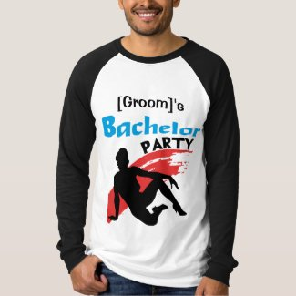 personalized Bachelor Party T-shirt