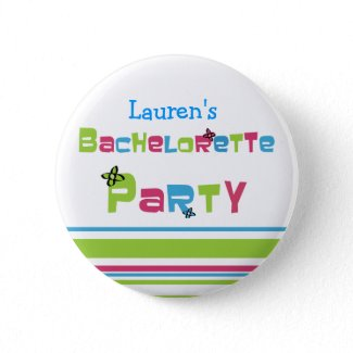 Customizable Bachelorette Party Button button