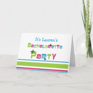 Bachelorette Party Cards