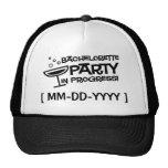 Customizable Bachelorette Party in Progress Hat