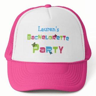 Customizable Bachelorette Party hat