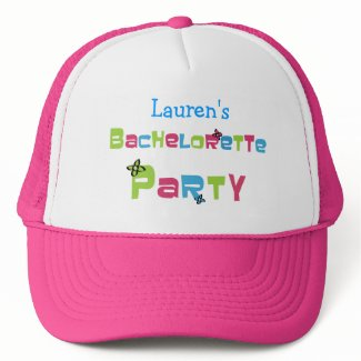 Customizable Bachelorette Party Products Hat