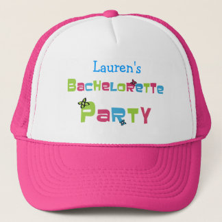 Customizable Bachelorette Party Products Trucker Hat