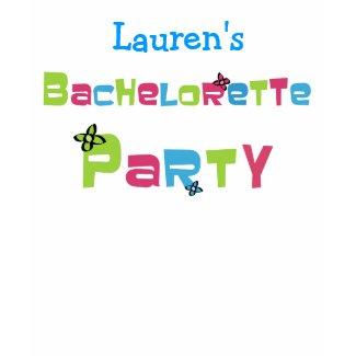 Customizable Bachelorette Party t-shirt