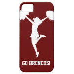 Customizable Background Cheerleader Cheerleading iPhone 5 Cover