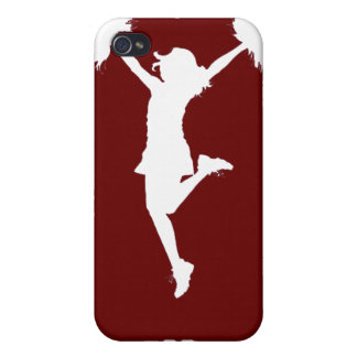Customizable Background Cheerleader Cheerleading Cover For iPhone 4