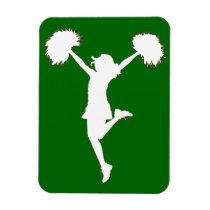 cheerleader,cheerleading,cheer,art,artwork,pom-poms,al rio, [[missing key: type_fuji_fleximagne]] com design gráfico personalizado