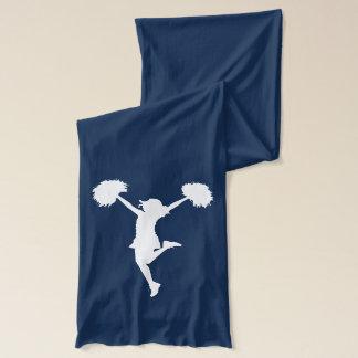 Customizable Background Cheerleader Cheerleading Scarf