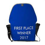 Customizable Backpack w/ First Place Winner on it Courier Bag
