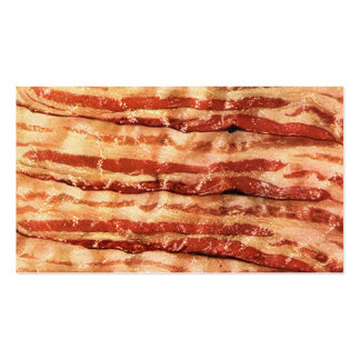 Customizable BACON business cards! Double-Sided Standard Business Cards (Pack Of 100)