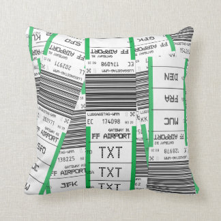 Customizable Baggage Tag Pillow