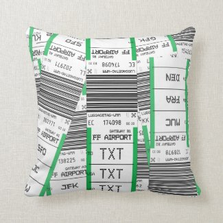 Customizable Baggage Tag - Pillow