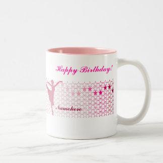Customizable: Ballerina Two-Tone Coffee Mug
