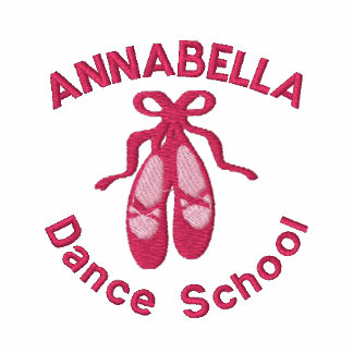 Customizable Ballet school Embroidered T-shirts
