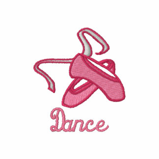 Customizable Ballet Slippers Dance Tees