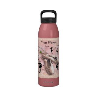 (Customizable) Ballet Reusable Water Bottle