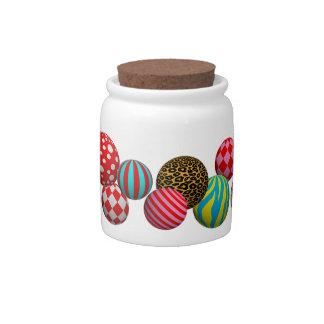 Customizable Balls Candy Jars