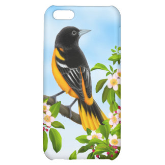 Customizable Baltimore Oriole Bird Speck Case Cover For iPhone 5C