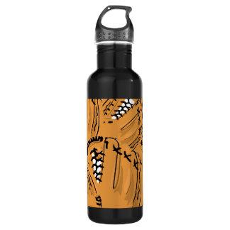 Customizable Baseball Glove Stainless Steel Water Bottle