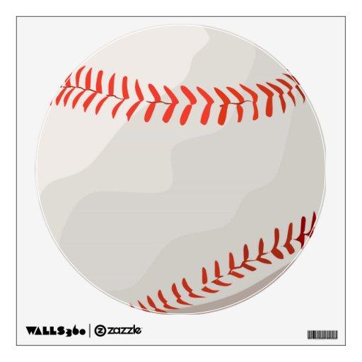 customizable baseball softball decal wall stickers zazzle