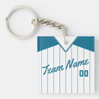 Customizable Baseball Softball Jersey Keyring