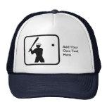 Customizable Baseballer Logo Trucker Hat