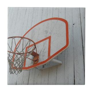 Customizable Basketball Hoop Design Ceramic Tile
