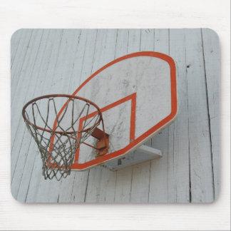 Customizable Basketball Hoop Design Mousepads