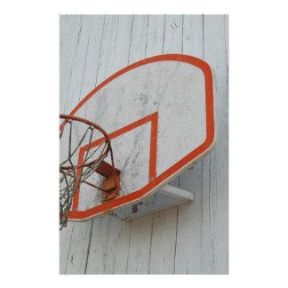 Customizable Basketball Hoop Design Customized Stationery
