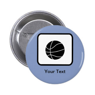 Customizable Basketball Logo Pins