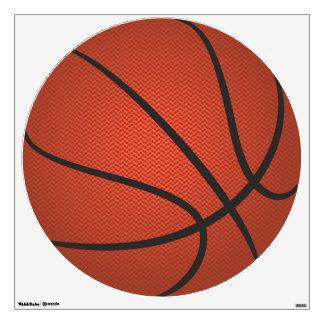 Customizable Basketball Round Wall Decal