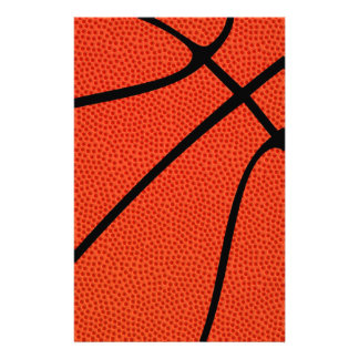 Customizable Basketball Stationary Stationery