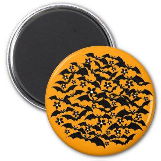 Customizable Bat Ball Magnet