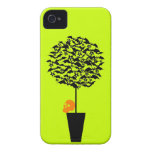 Customizable Bat Topiary iPhone 4 Cover