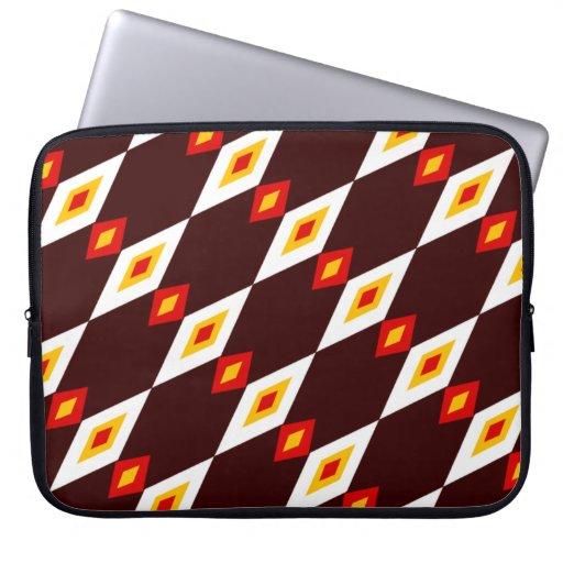 Customizable Beaded Diamonds Laptop Computer Sleeve