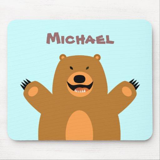 Customizable Bear Mousepad
