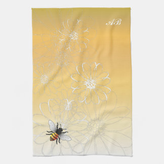 Customizable: Bee Kitchen Towels