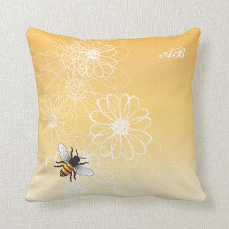 Customizable: Bee Throw Pillow