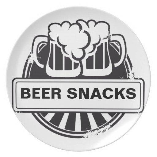 Customizable Beer logo Dinner Plate   Zazzle