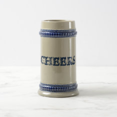 Customizable Beer Stein at Zazzle