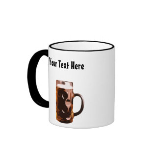 Customizable Beer Stein Coffee Mug