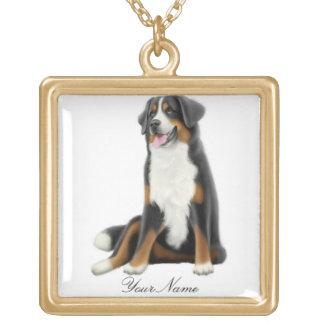 Customizable Bernese Mountain Dog Necklace