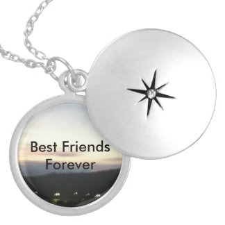 Customizable Best Friends Forever Necklace Locket
