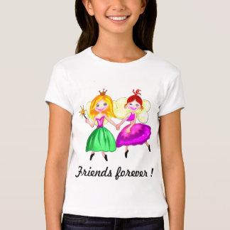 Customizable Best friends princess fairies T-Shirt