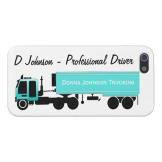 Customizable Big Rig Blue Reefer iPhone Case Cases For iPhone 5