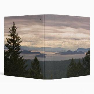 Customizable Binder: San Juan Islands Pano 3 Ring Binder