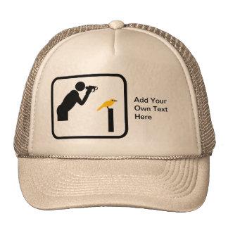 Customizable Birder / Bird Watcher Logo Mesh Hat