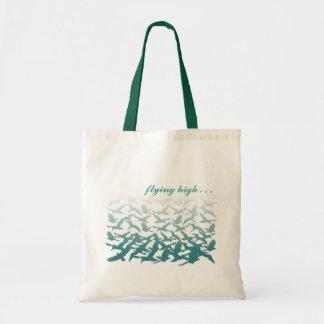 Customizable: Birds blue Tote Bags